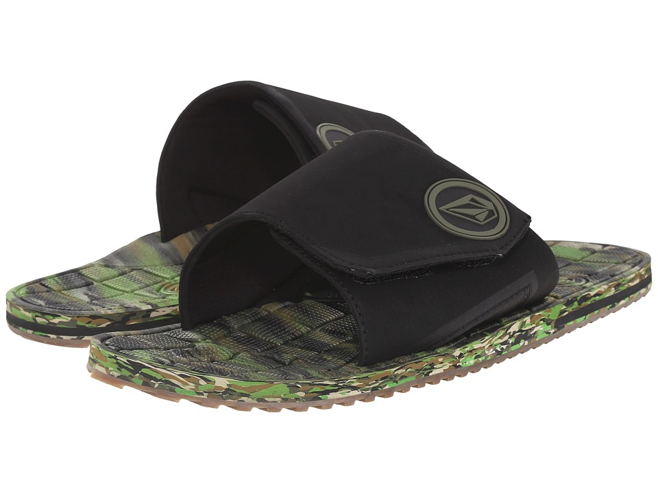 Volcom Stryker Slide (Dark Camo) Men