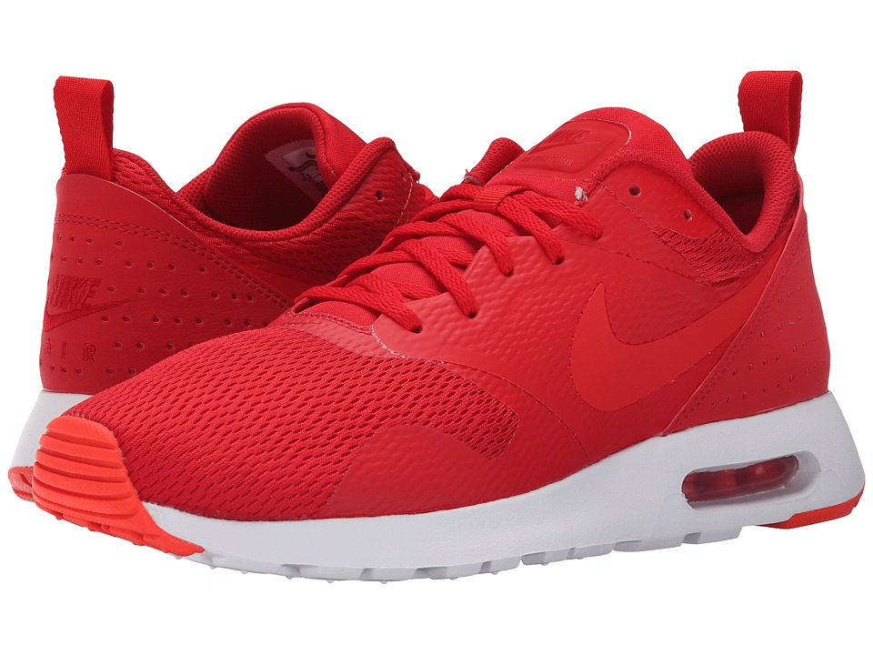 Nike - Air Max Tavas (University Red/White/Bright Crimson/Light Crimson) Men's Shoes