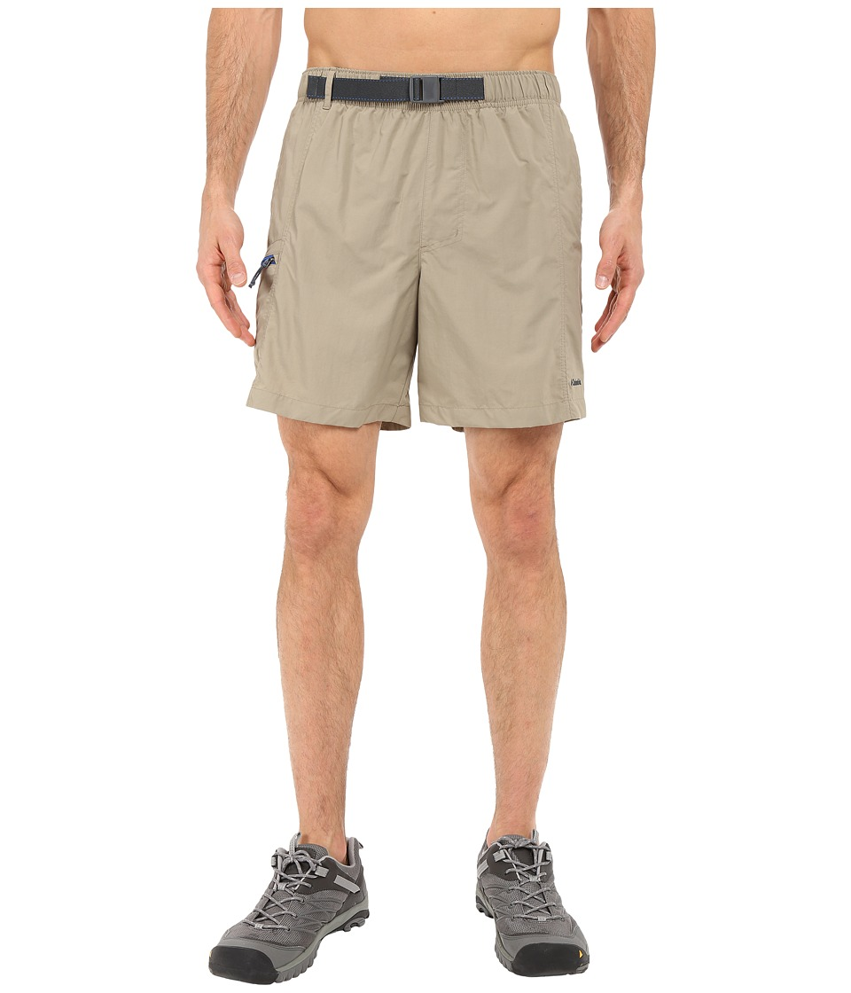 Columbia - Eagle River Shorts (Tusk/Super Blue Zip) Men's Shorts