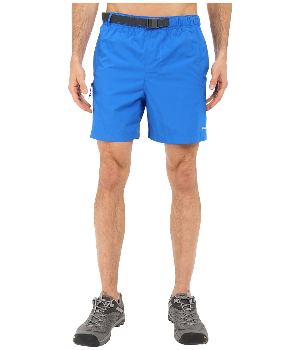 Columbia - Eagle River Shorts (Super Blue/Graphite Zip) Men's Shorts
