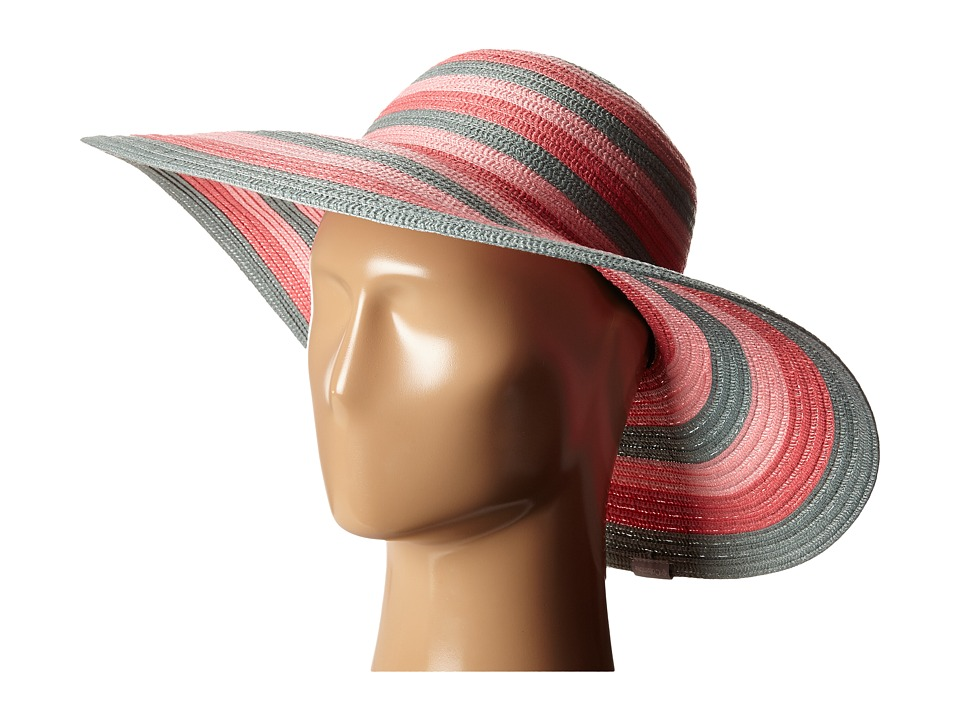 Columbia - Sun Ridge II Hat (Bright Geranium Stripe) Traditional Hats