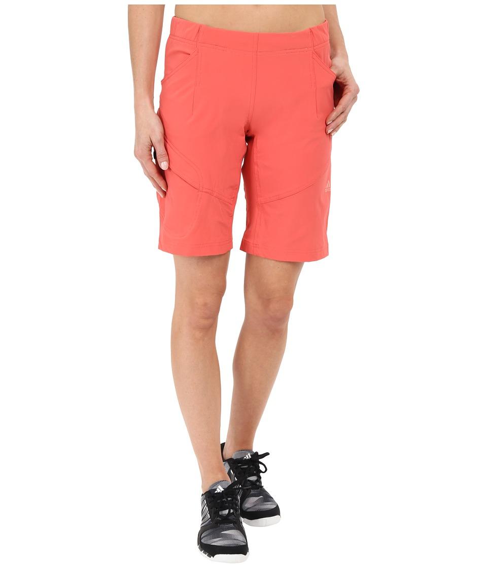 adidas Outdoor - EDO Hike Shorts (Super Blush) Women's Shorts
