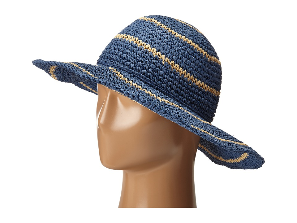Columbia - Early Tide Straw Hat (Bluebell/Natural) Bucket Caps