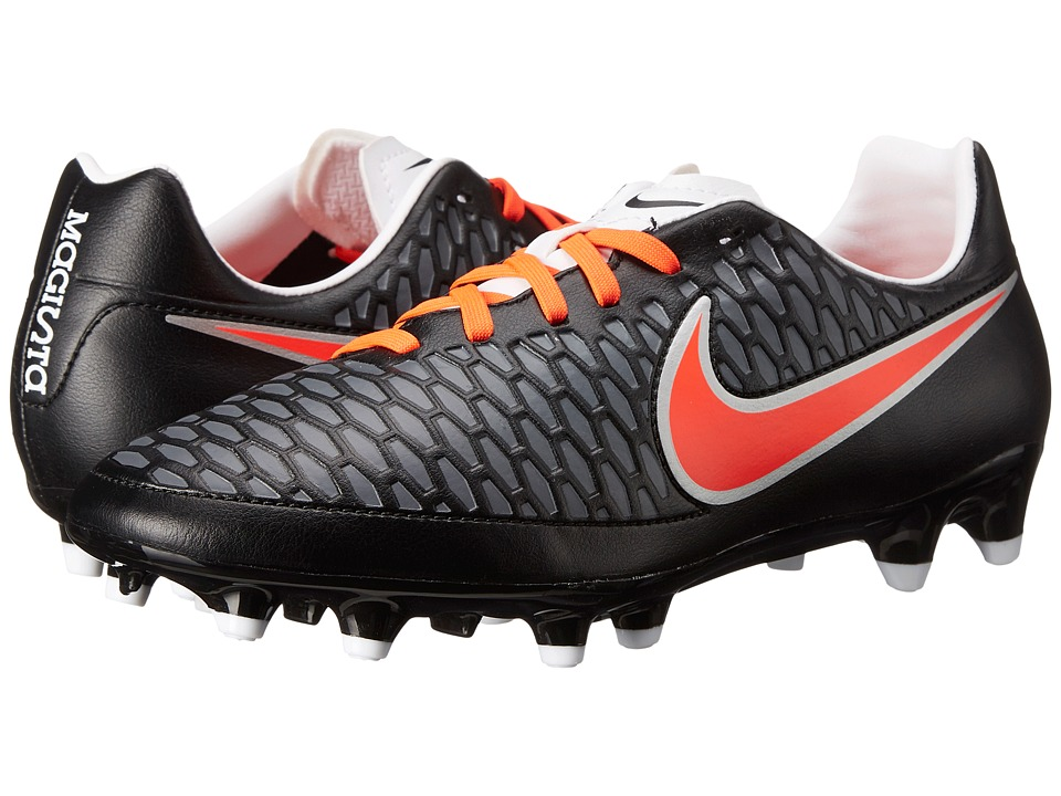 Nike - Magista Onda FG (Black/White/Dark Grey/Bright Crimson) Women's Soccer Shoes
