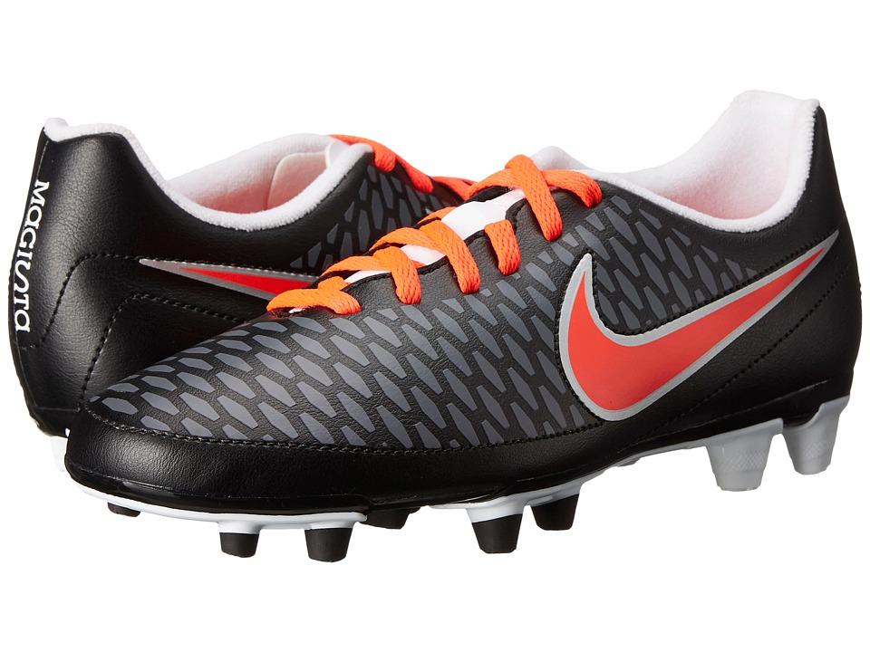 Nike - Magista Ola FG (Black/White/Dark Grey/Bright Crimson) Women's Soccer Shoes