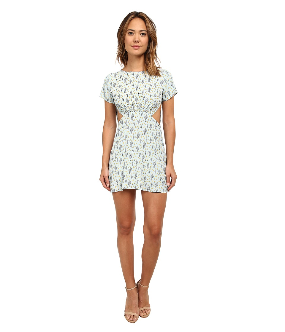 For Love and Lemons - Mojavi Mini Dress (Mint Cacti) Women's Dress