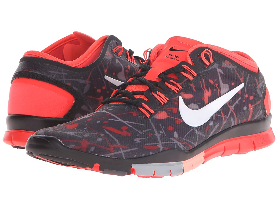 Nike - Free TR Connect 2 (Black/Bright Crimson/Dark Grey/White) Women's Cross Training Shoes