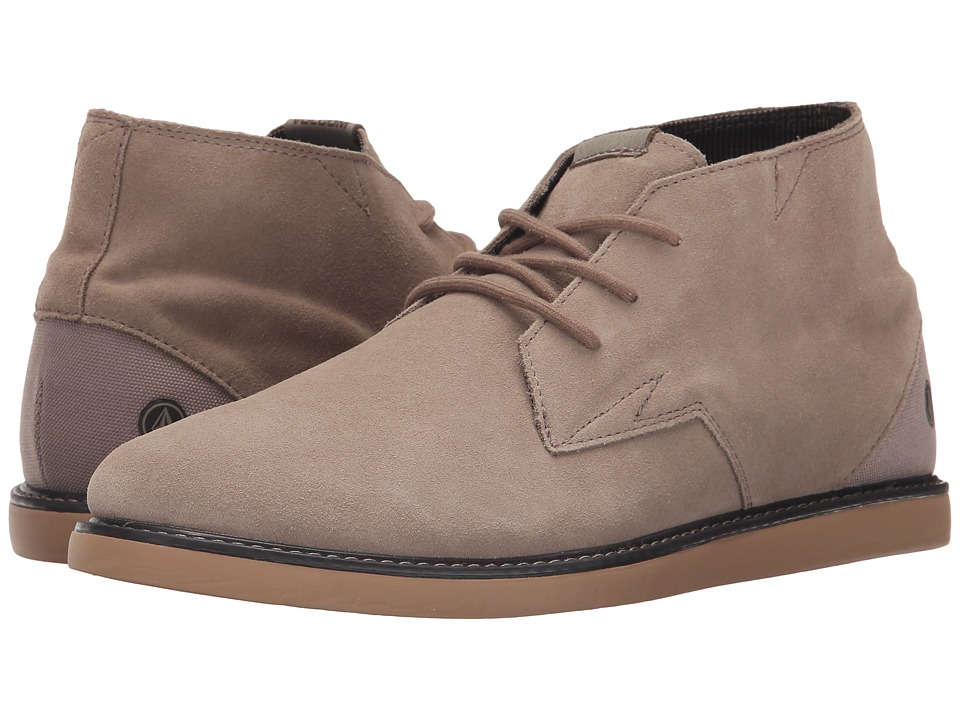 Volcom - Del Mesa 2 (Khaki) Men's Lace up casual Shoes