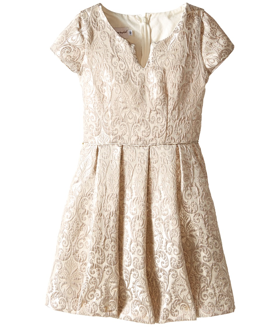 fiveloaves twofish - Coast to Coast Dress (Little Kids/Big Kids) (Silver) Girl's Dress