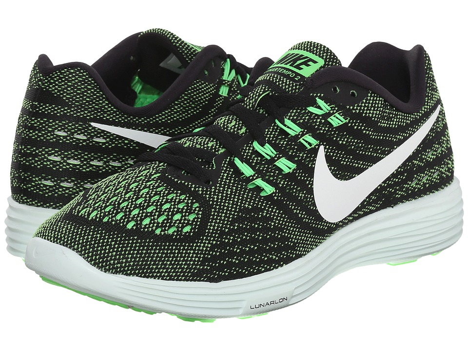 Nike - Lunartempo 2 (Voltage Green/Black/Barely Green/White) Women's Running Shoes