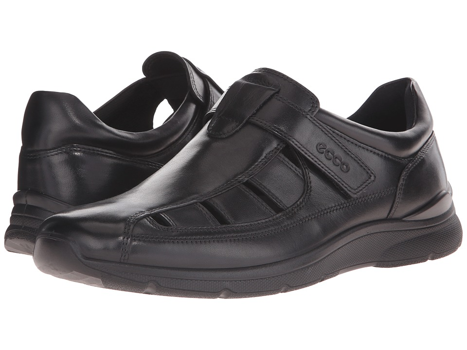 ECCO - Irving Fisherman (Black) Men's Shoes