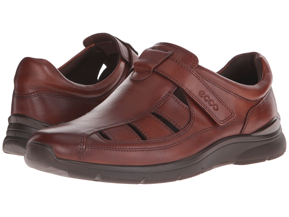 ECCO - Irving Fisherman (Cognac) Men's Shoes
