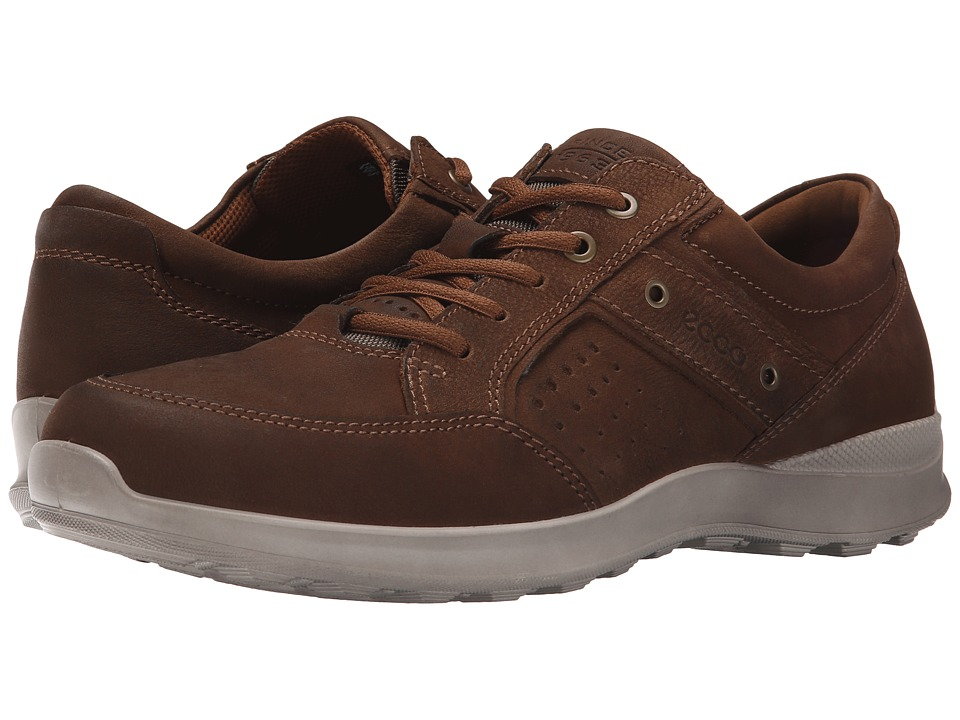 ECCO - Hayes Camel Bukhara (Camel) Men's Shoes