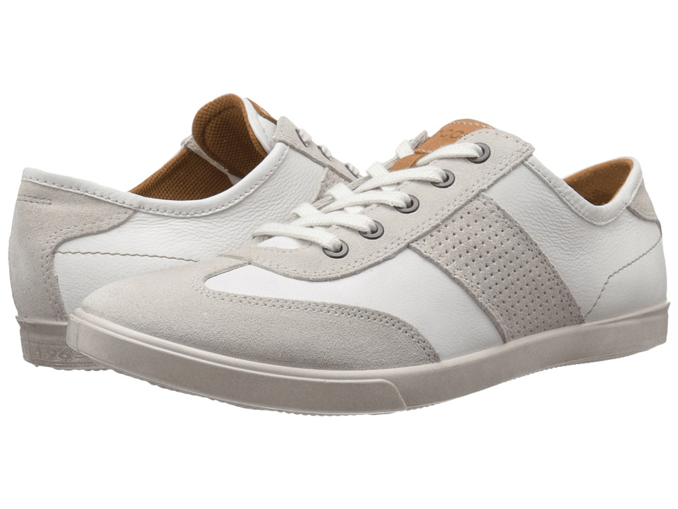 ECCO Collin Retro Sneaker (Gravel/White) Men