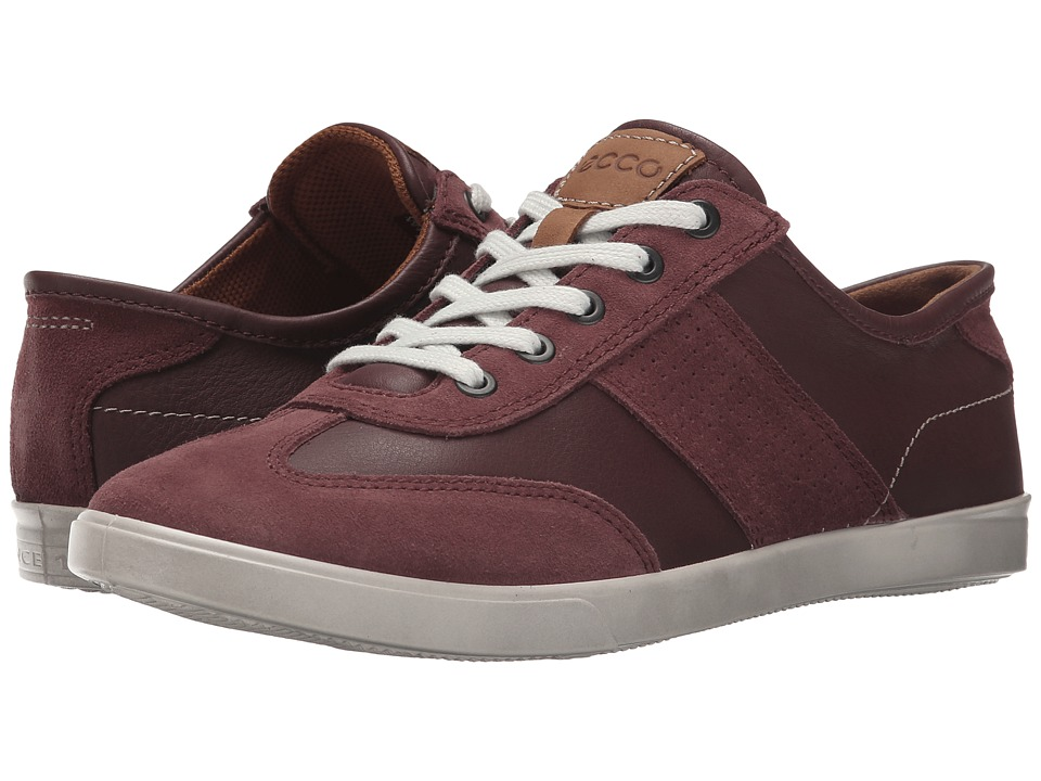ECCO - Collin Retro Sneaker (Port/Port) Men's Shoes