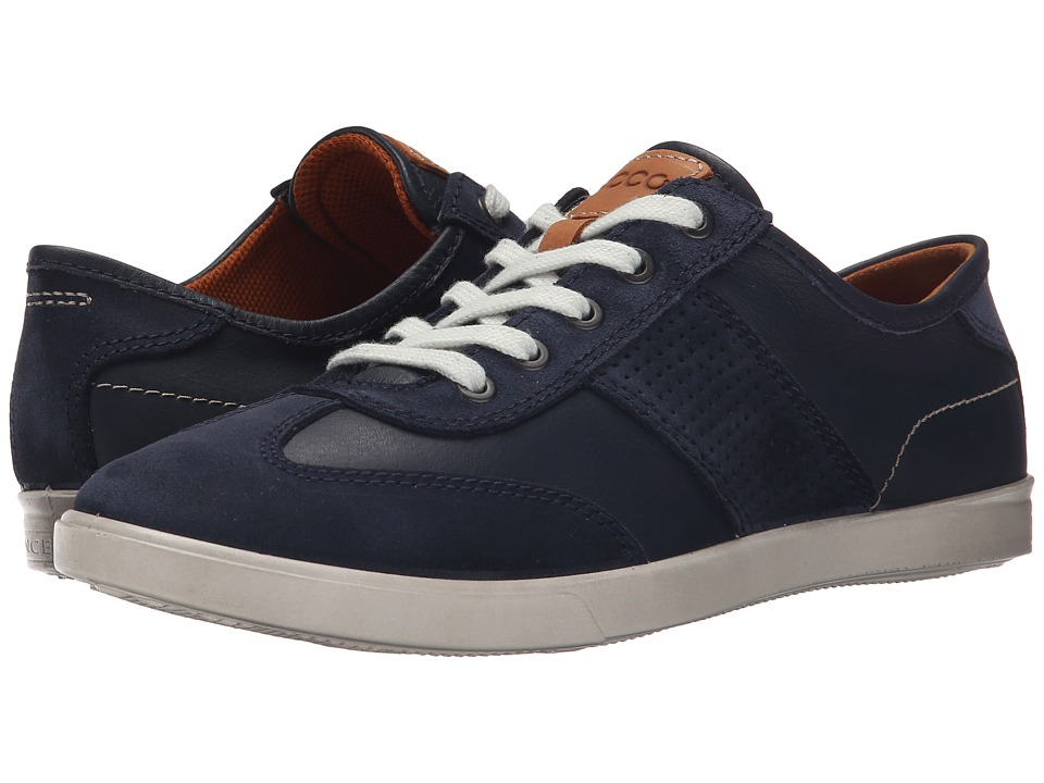 ECCO - Collin Retro Sneaker (Marine/Marine) Men