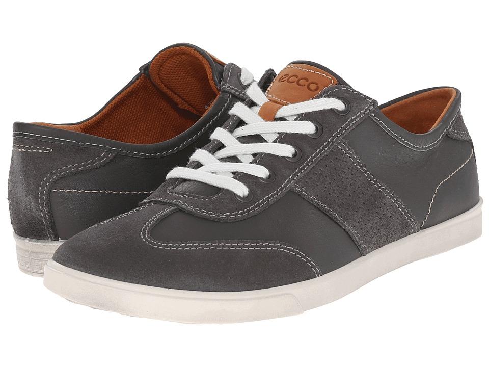 ECCO Collin Retro Sneaker (Dark Shadow/Dark Shadow) Men