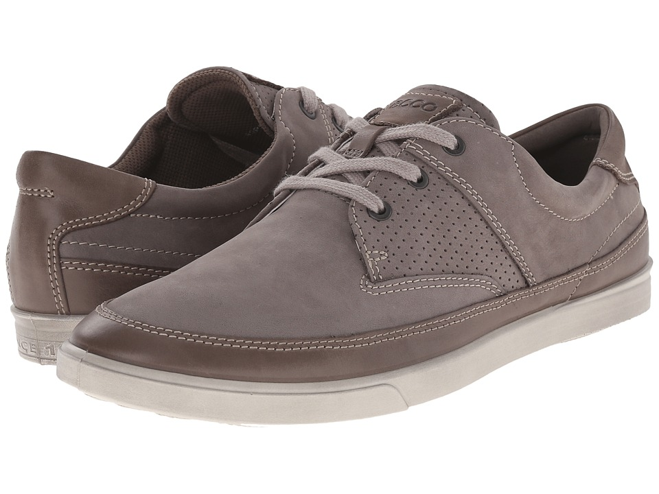 ECCO - Collin Nautical Perf (Warm Grey/Warm Grey) Men's Shoes