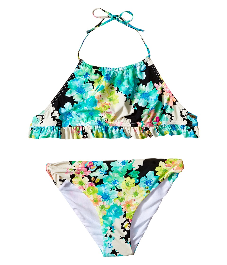 O'Neill Kids - Flora Halter Swim Set (Little Kid/Big Kid) (Multi) Girl's Swimwear