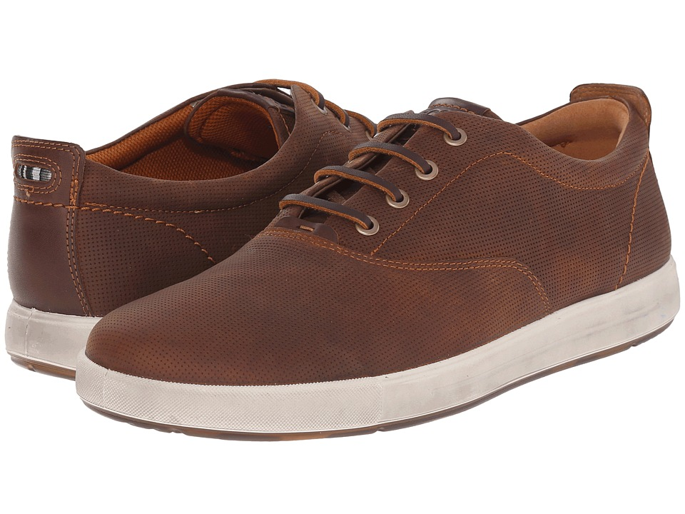 ECCO - Eisner Retro Sneaker (Amber/Mink) Men's Shoes