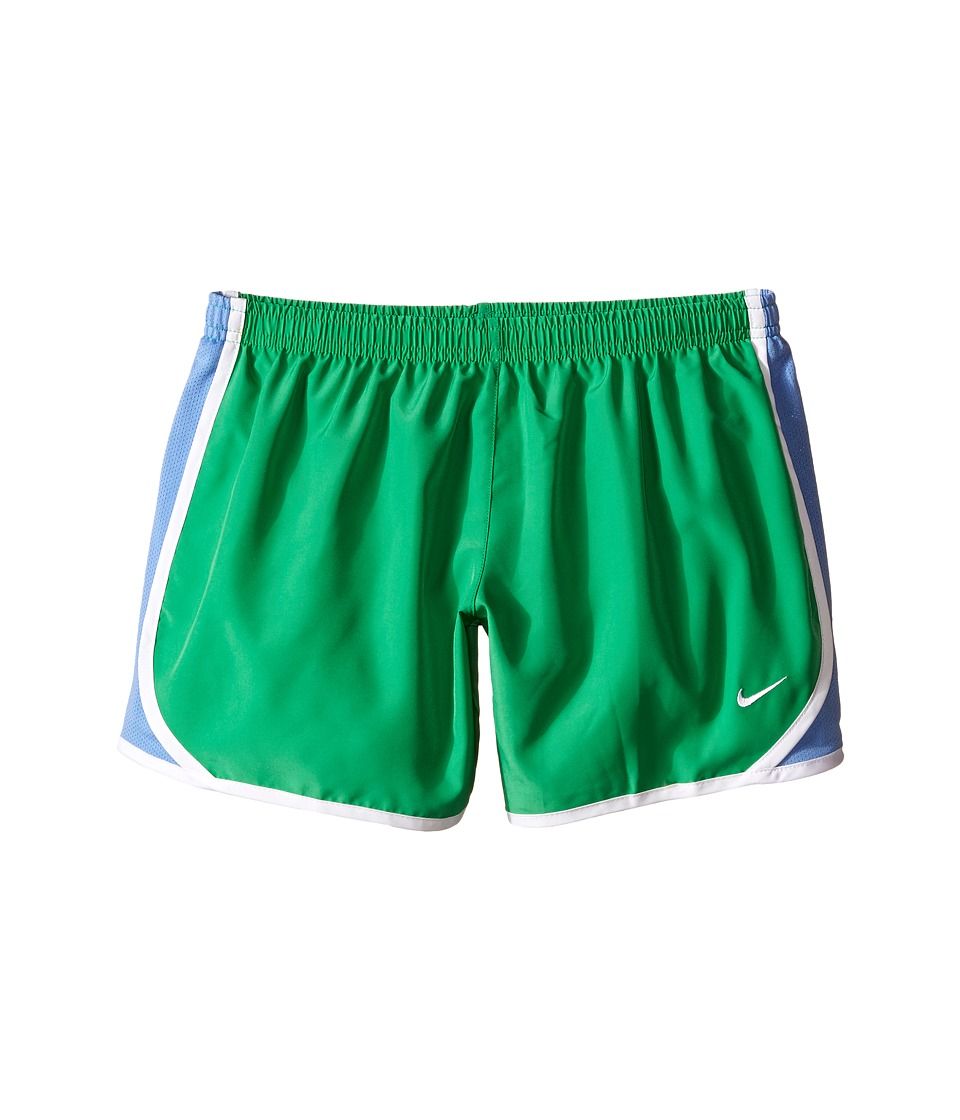 Nike Kids - Tempo Short (Little Kids/Big Kids) (Spring Leaf/Chalk Blue/White/White) Girl's Shorts