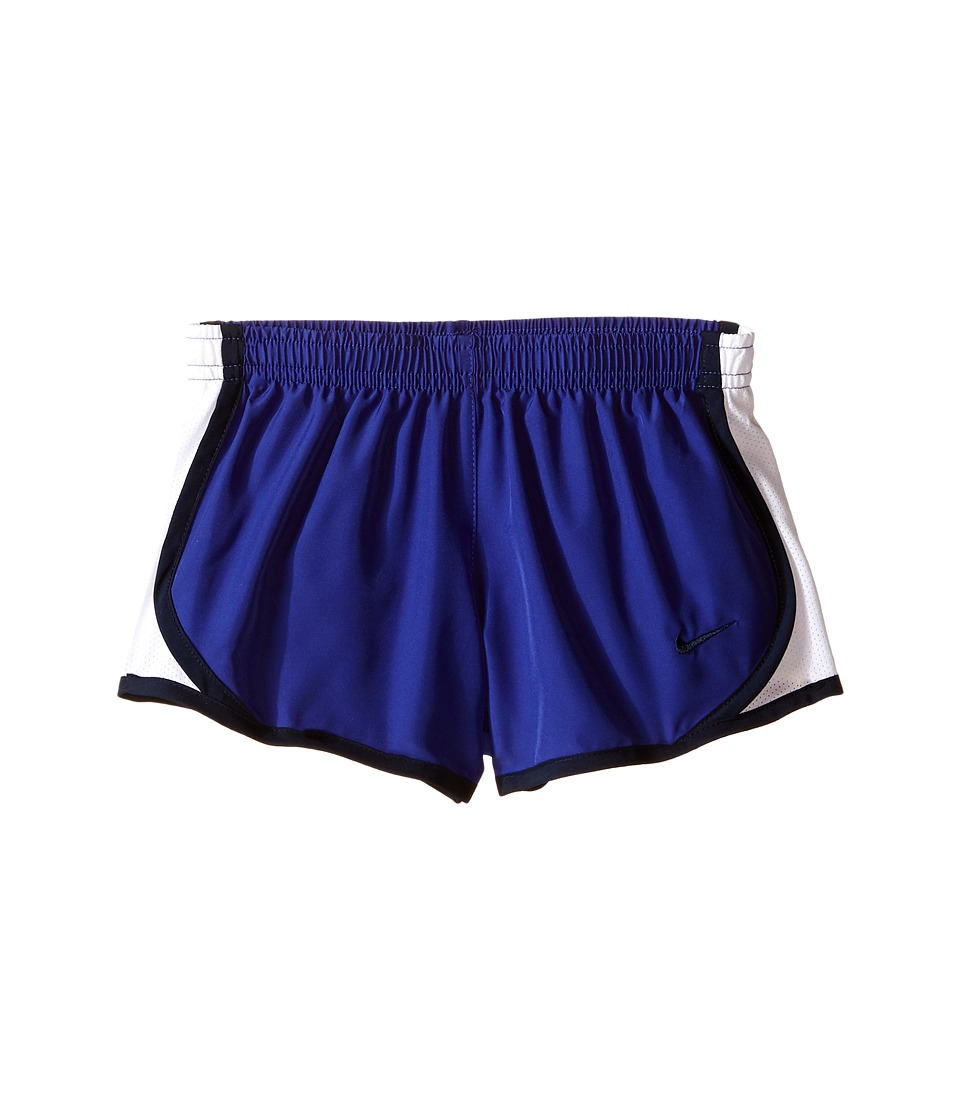 Nike Kids - Tempo Short (Little Kids/Big Kids) (Deep Night/White/Obsidian/Obsidian) Girl's Shorts