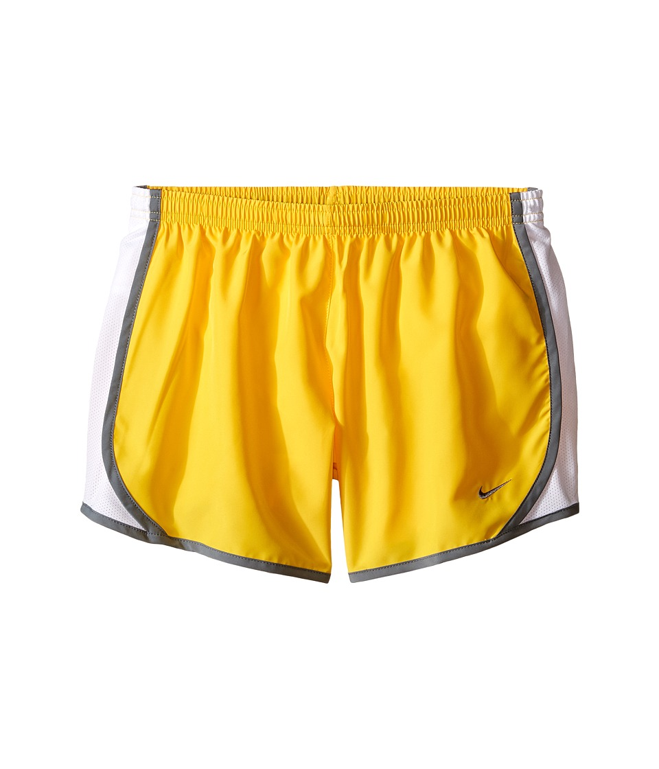 Nike Kids - Tempo Short (Little Kids/Big Kids) (Varsity Maize/White/Cool Grey/Cool Grey) Girl's Shorts