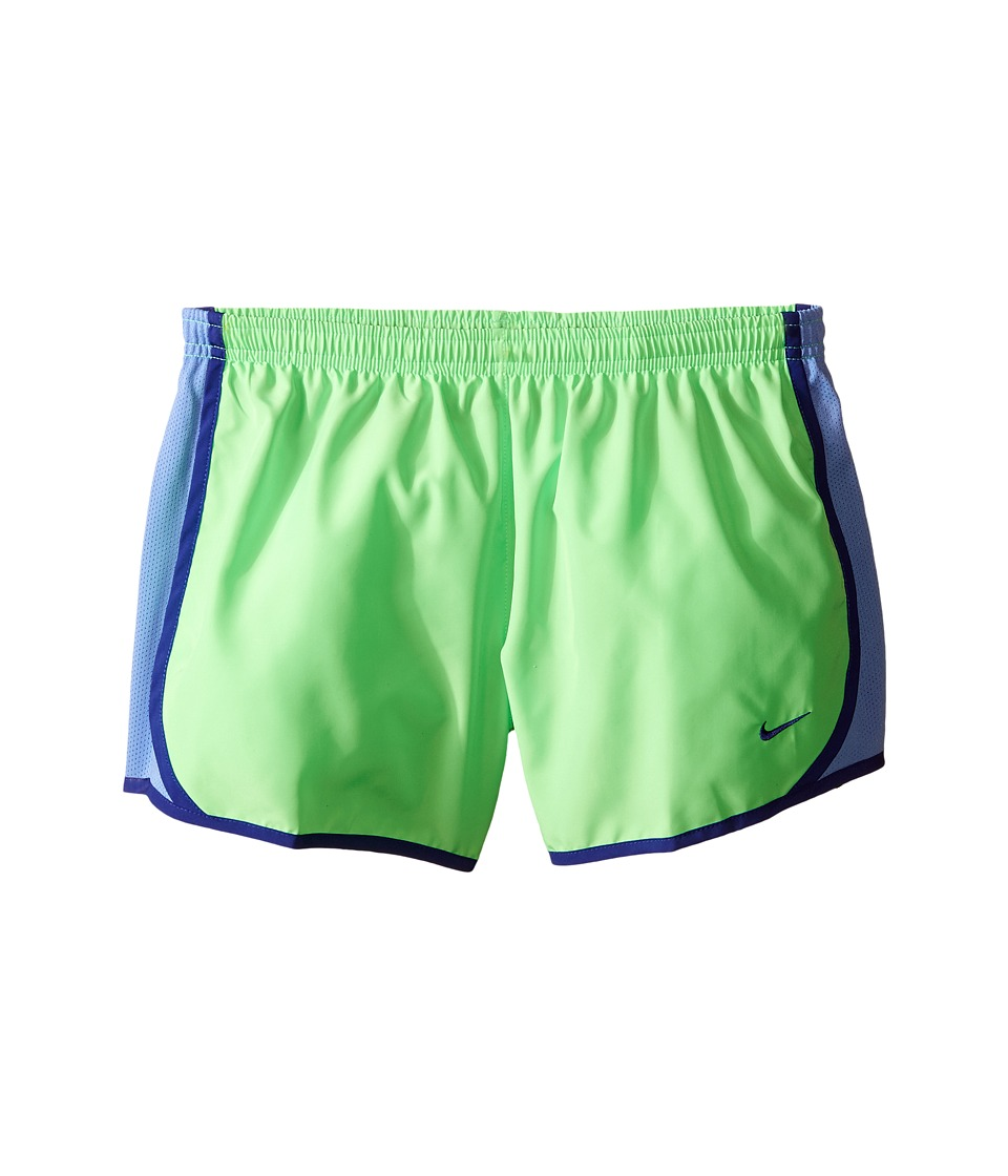 Nike Kids - Tempo Short (Little Kids/Big Kids) (Voltage Green/Chalk Blue/Deep Night/Deep Night) Girl's Shorts