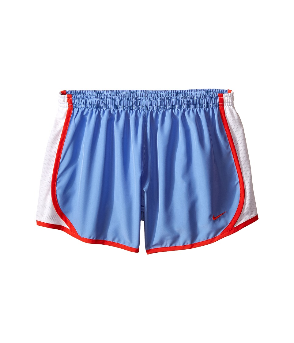 Nike Kids - Tempo Short (Little Kids/Big Kids) (Chalk Blue/White/Light Crimson/Light Crimson) Girl's Shorts