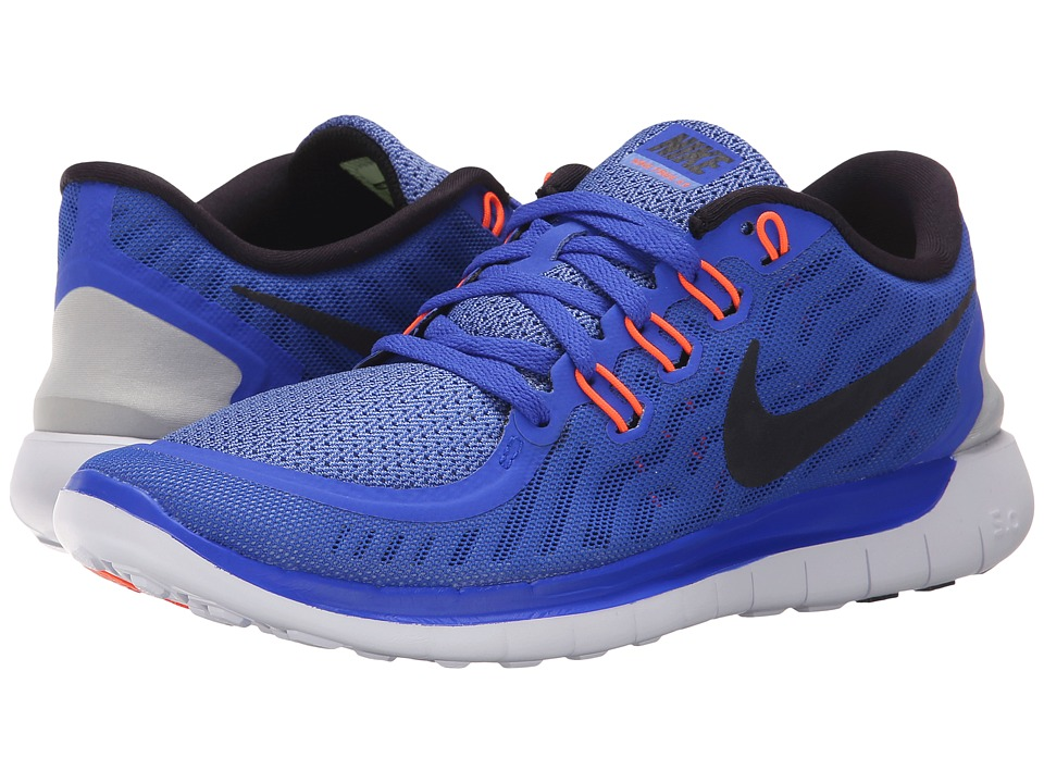 Nike - Free 5.0 (Racer Blue/Chalk Blue/White/Black) Women's Running Shoes