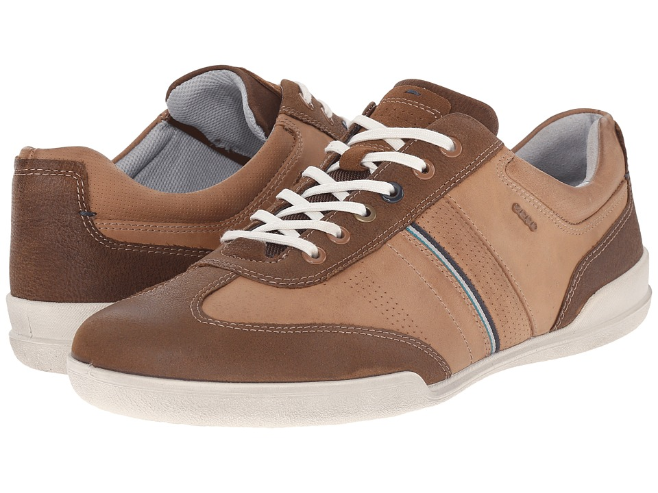 ECCO - Enrico Retro Sneaker (Camel/Whiskey) Men