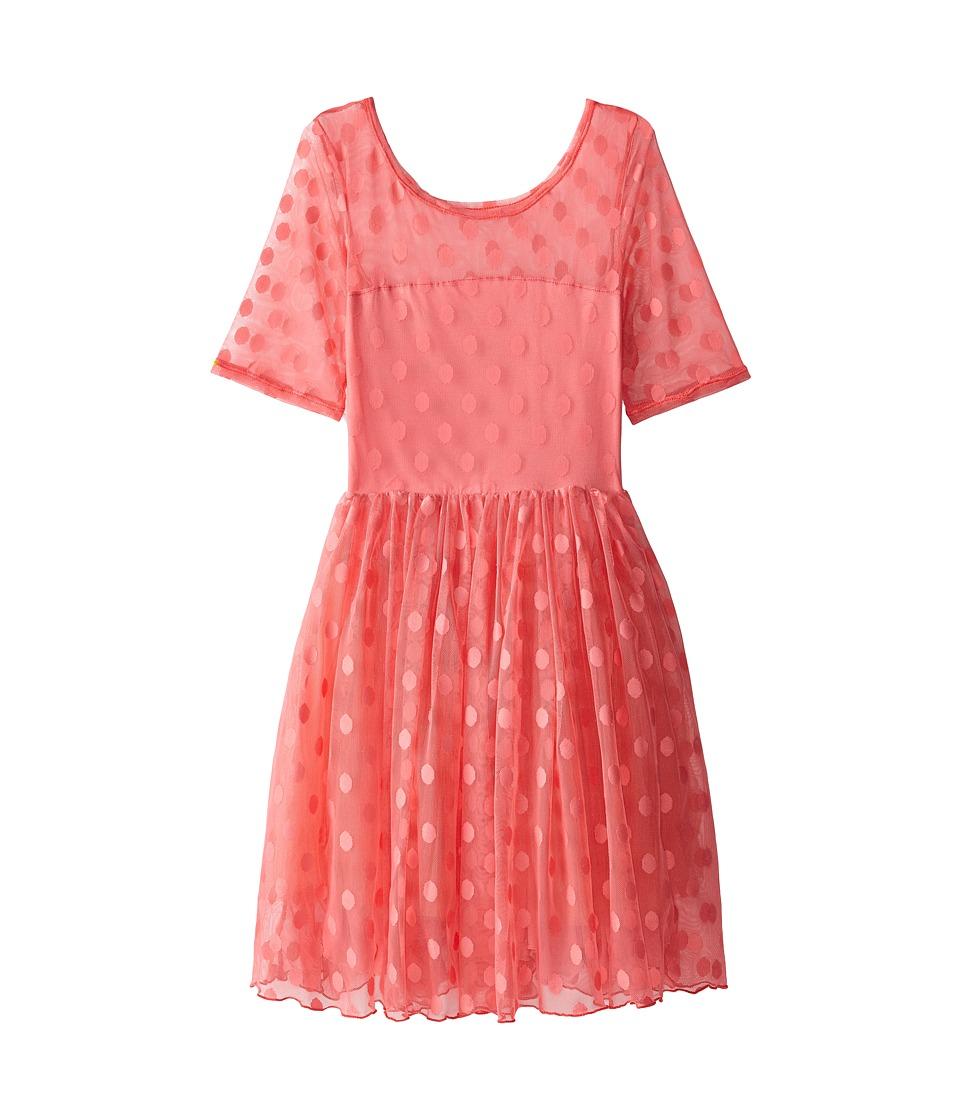 fiveloaves twofish - Maiden of the West Dress (Little Kids/Big Kids) (Salmon) Girl's Dress