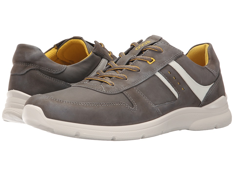 ECCO - Irondale Retro Sneaker (Tarmac/Tarmac) Men's Shoes