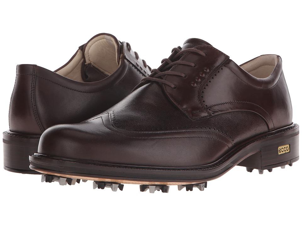 ECCO Golf New World Class (Cocoa Brown/Cocoa Brown) Men