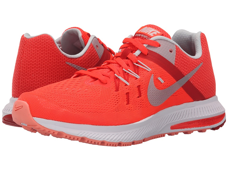 Nike - Zoom Winflo 2 (Bright Crimson/University Red/Atomic Pink/Metallic Platinum) Women's Running Shoes