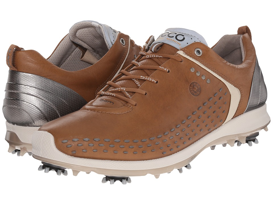 ECCO Golf - BIOM G 2 (Camel/Oyester) Men's Golf Shoes