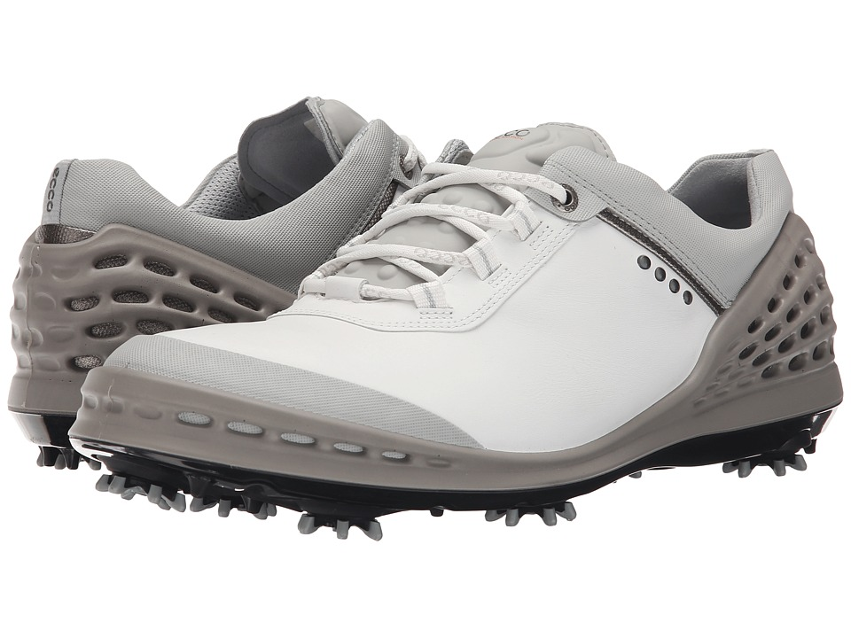 ECCO Golf - Cage (White) Men's Shoes