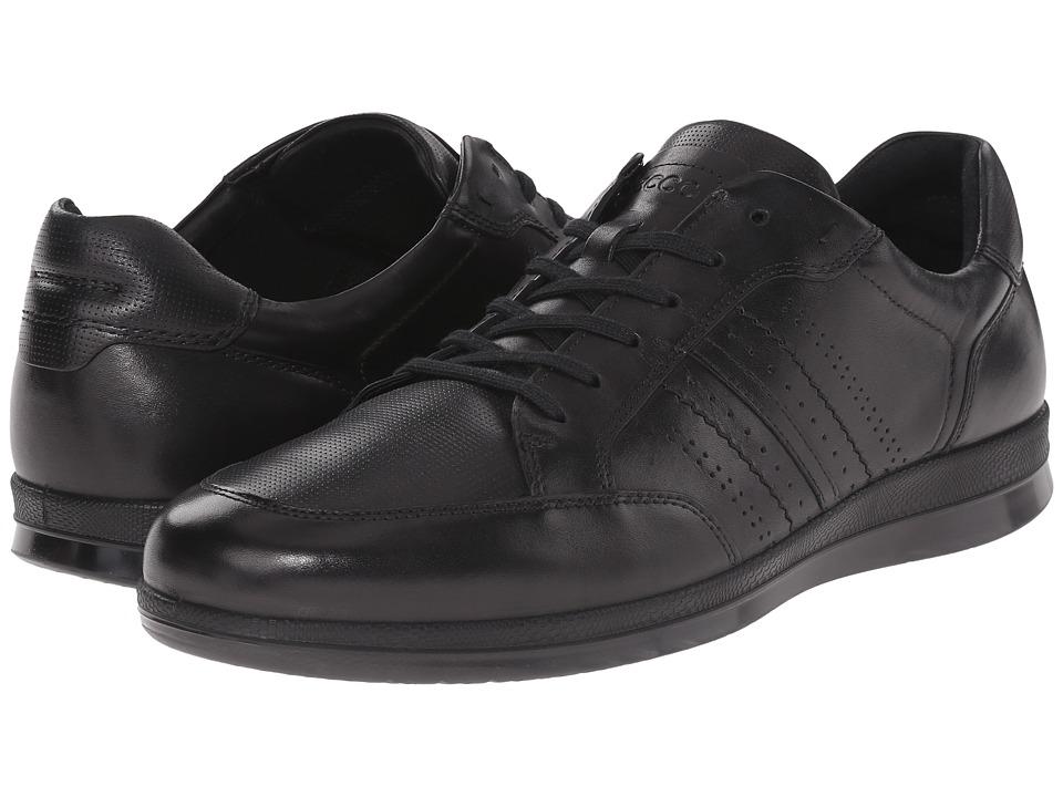 ECCO Hayden Tie (Black) Men