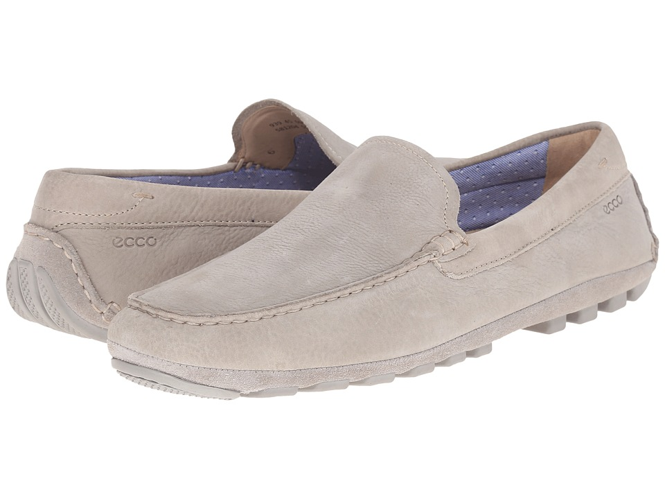 ECCO - Summer Moc (Wild Dove/Wild Dove) Men's Shoes