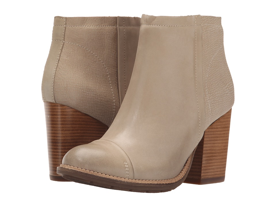 Hush Puppies - Axelle Dewey (Light Taupe Leather) Women's Zip Boots