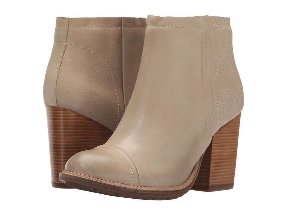 Hush Puppies - Axelle Dewey (Light Taupe Leather) Women's Zip Boots