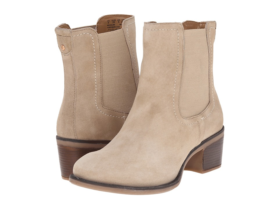 Hush Puppies - Landa Nellie (Light Taupe Suede) Women