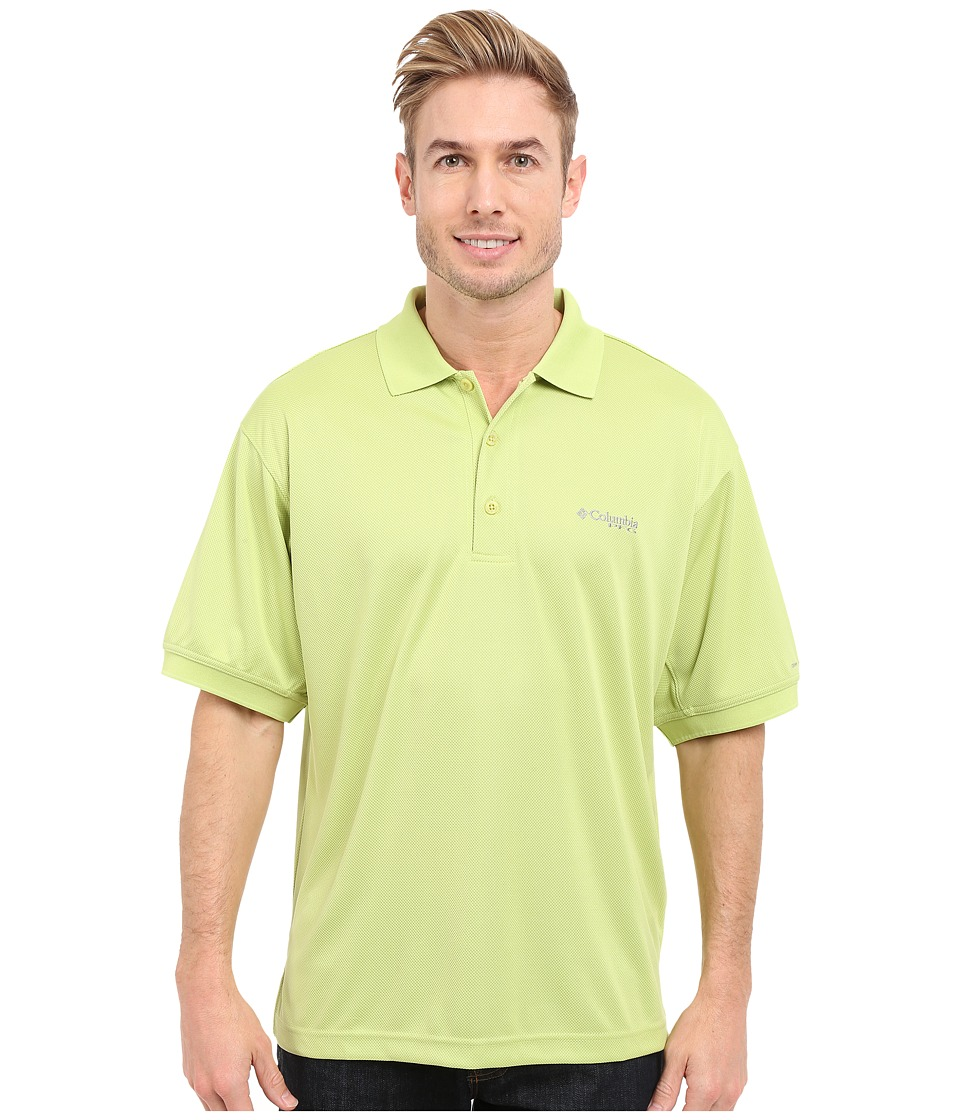 Columbia - Perfect Cast Polo (Napa Green) Men's Short Sleeve Pullover