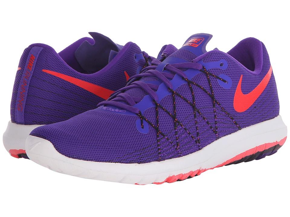 Nike - Flex Fury 2 (Fierce Purple/Black/White/Bright Crimson) Women's Running Shoes