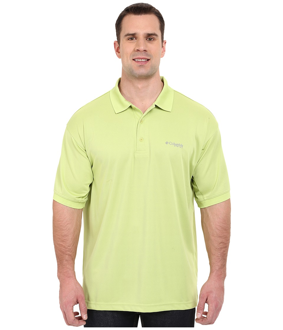 Columbia - Perfect Cast Polo - Extended (Napa Green) Men's Clothing