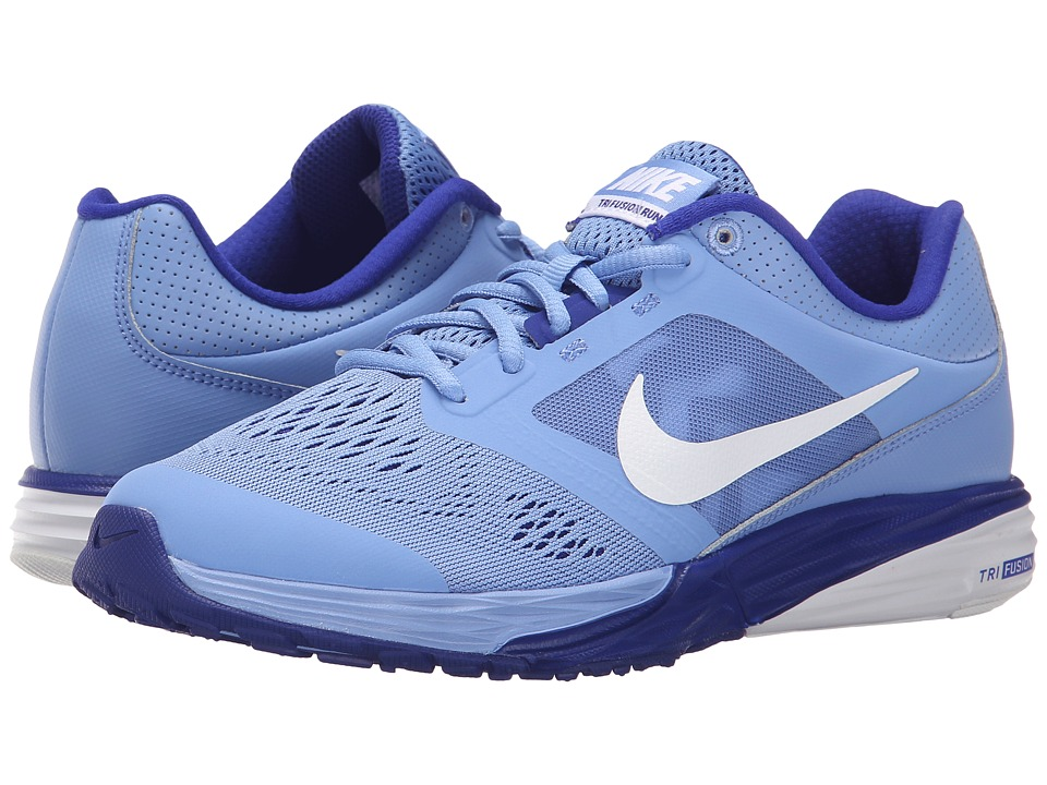 Nike - Tri Fusion Run (Chalk Blue/Concord/Blue Tint/White) Women's Running Shoes