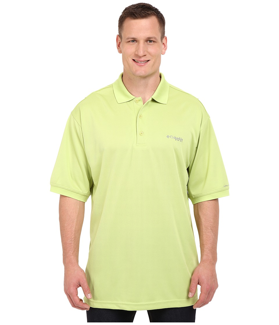 Columbia - Perfect Cast Polo - Tall (Napa Green) Men's Short Sleeve Pullover