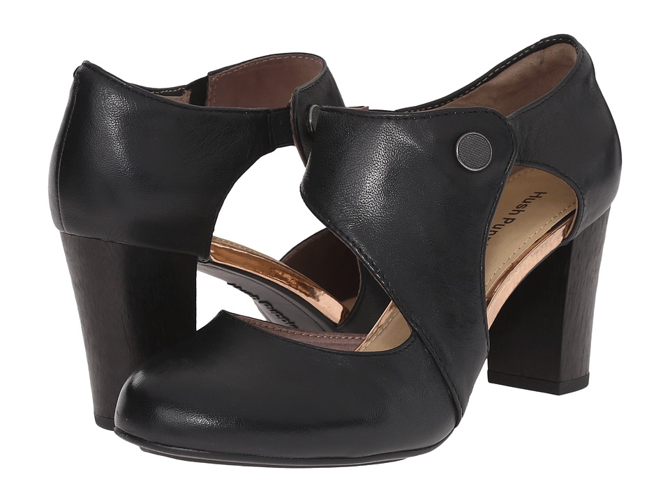 Hush Puppies - Devynn Sisany (Black Leather) High Heels