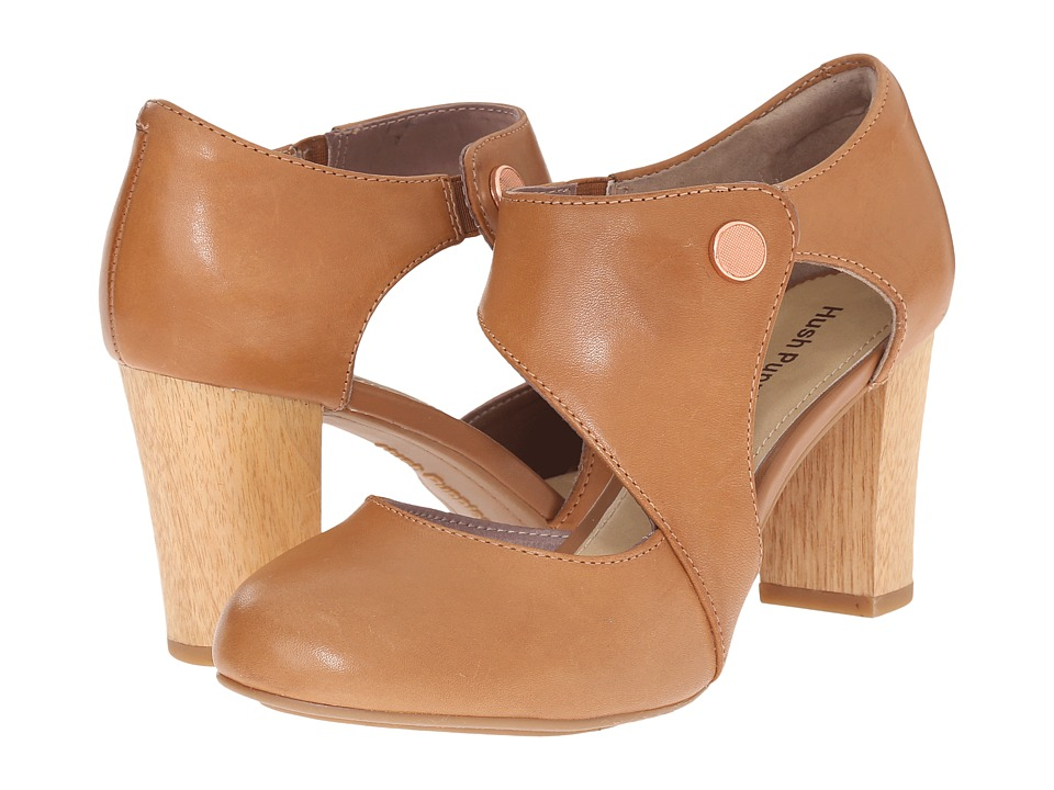 Hush Puppies - Devynn Sisany (Tan Leather) High Heels