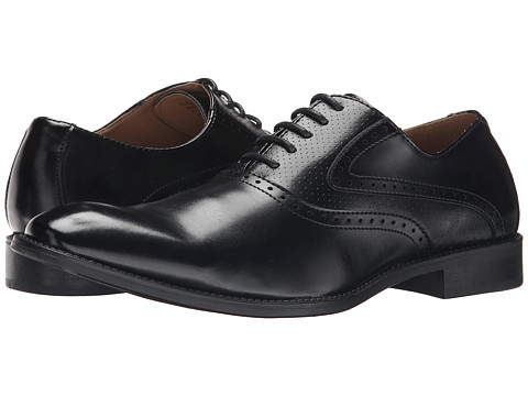 RW by Robert Wayne - Saddle Shoe (Black) Men